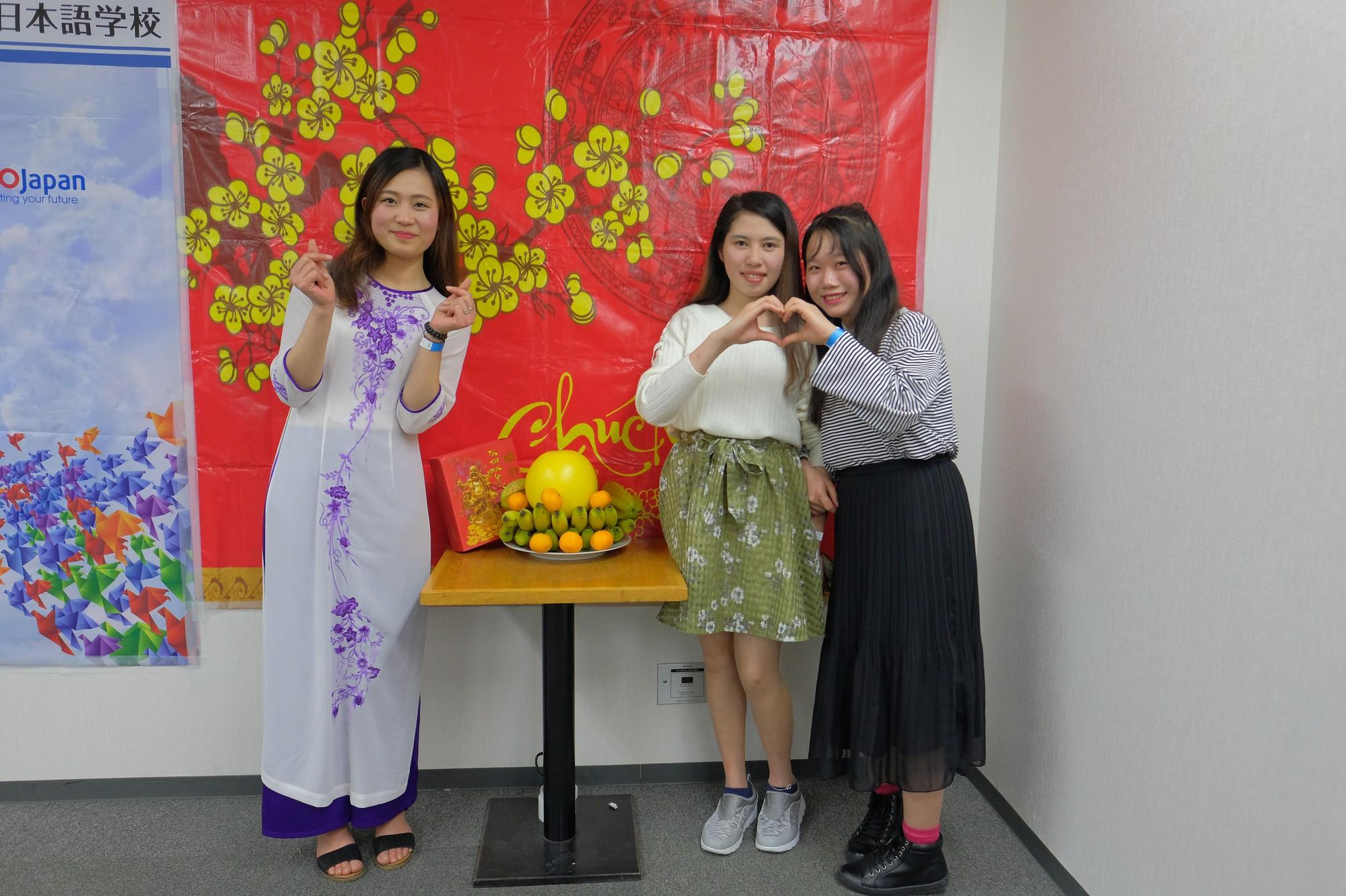 Ở nhà chưa thấy Tết đâu nhưng DHS Việt ở Nhật đã đón Tết rất hoành tráng rồi - Ảnh 9.