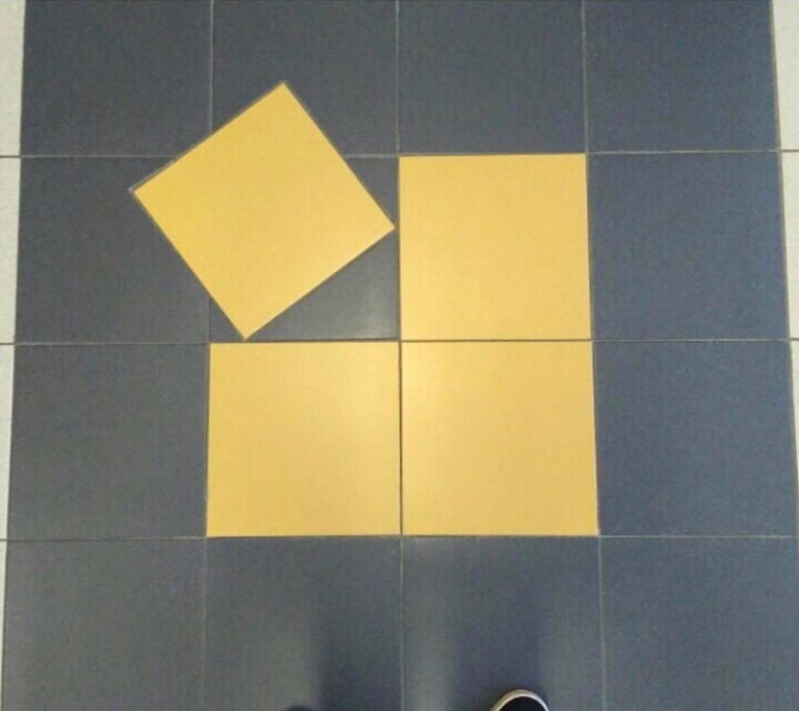 15 sàn nhà bị lát ẩu lệch lạc khiến bạn hóa điên khi nhìn thấy - Ảnh 21.