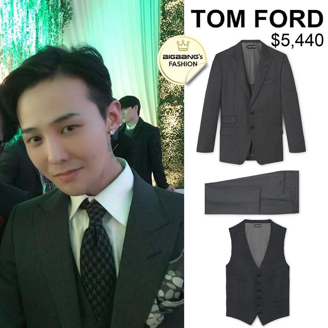 Có phúc cùng hưởng, có đồ hiệu cùng mặc: các thành viên Big Bang cùng diện suit Tom Ford trong lễ cưới của Taeyang để thể hiện tình huynh đệ - Ảnh 3.