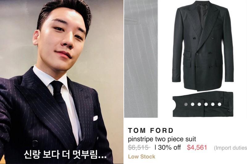Có phúc cùng hưởng, có đồ hiệu cùng mặc: các thành viên Big Bang cùng diện suit Tom Ford trong lễ cưới của Taeyang để thể hiện tình huynh đệ - Ảnh 4.