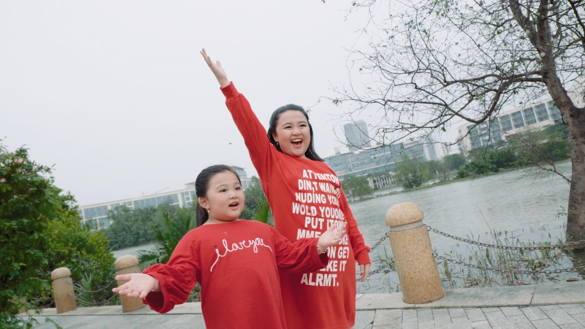 Phương Uyên, Thiều Bảo Trang, Vũ Thảo My quậy hết cỡ cùng trò nhí trong MV mang thông điệp tích cực về cuộc sống - Ảnh 8.