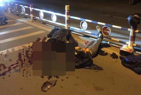 Nữ phượt thủ đi xe Exciter tử vong vì tông vào dải phân cách - Ảnh 1.