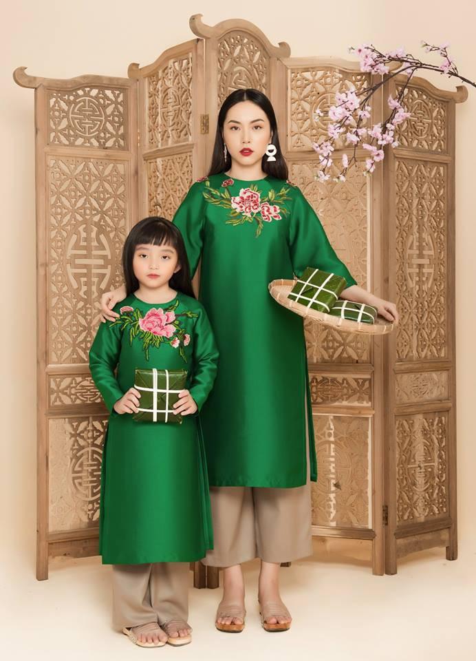 2 công thức diện áo dài cách tân đẹp miễn chê trong Tết này - Ảnh 3.