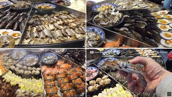 Nồi hải sản ở Ninh Ba (Trung Quốc) to ngoài sức tưởng tượng nhưng giá lại rẻ bất ngờ - Ảnh 6.