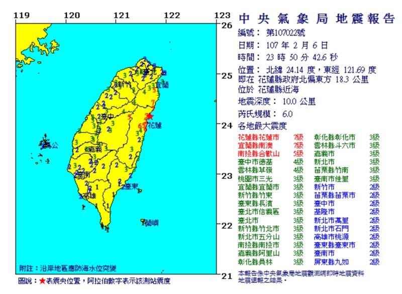 Đài Loan: Động đất mạnh 6 độ richter gây đổ sập nhiều toà nhà, hư hỏng đường sá - Ảnh 5.