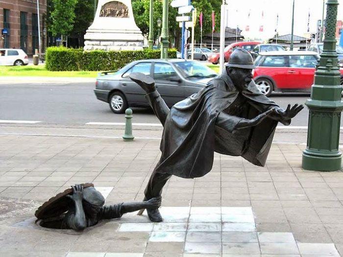 16 công trình điêu khắc ảo diệu khiến bạn tưởng lực hấp dẫn không còn tồn tại - Ảnh 21.
