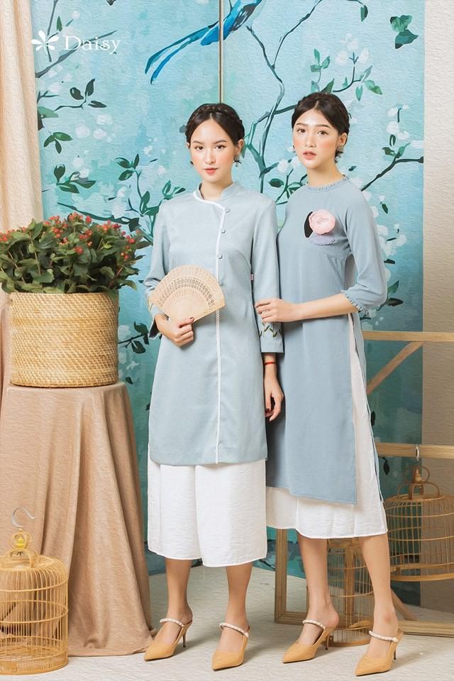 2 công thức diện áo dài cách tân đẹp miễn chê trong Tết này - Ảnh 1.