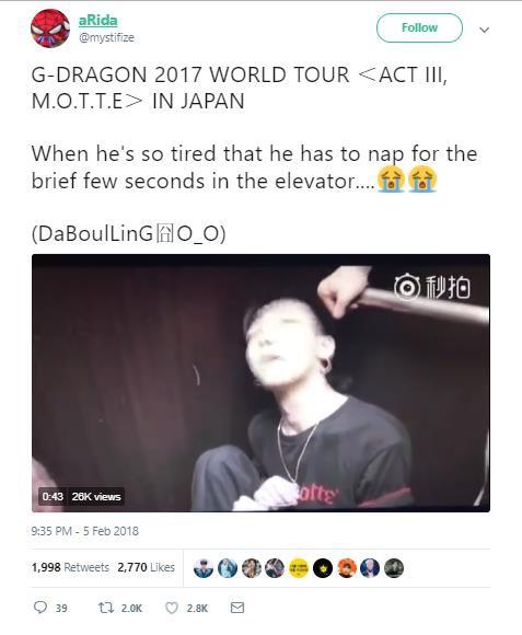 Clip G-Dragon gầy như bộ xương di động, tiều tụy sắp ngất trong hậu trường show khiến công chúng phải suy ngẫm - Ảnh 8.