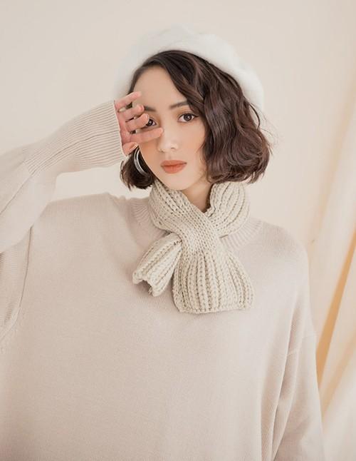 khăn len nữ quàng cổ xu hướng đông 2018