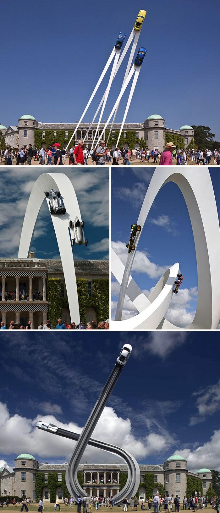 16 công trình điêu khắc ảo diệu khiến bạn tưởng lực hấp dẫn không còn tồn tại - Ảnh 29.