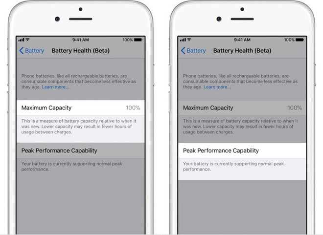 iOS 11.3 Beta 2 đã cho phép xem tình trạng pin, tắt tính năng làm chậm iPhone - Ảnh 1.