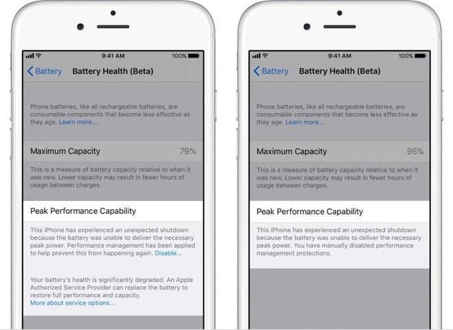 iOS 11.3 Beta 2 đã cho phép xem tình trạng pin, tắt tính năng làm chậm iPhone - Ảnh 2.