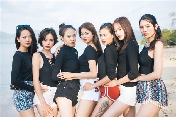 Nhan sắc của Đàm Thu Trang - bạn gái Cường Đô La thuở đi thi Next Top Model - Ảnh 7.