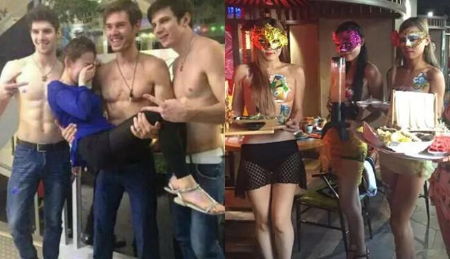 Thuê nam ngực trần, nữ diện bikini phục vụ khách, quán lẩu bị cộng đồng mạng ném đá vì làm lố quá đà - Ảnh 3.