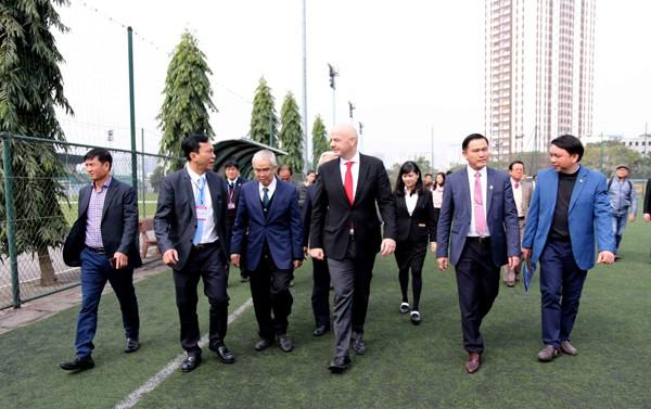 """Chủ tịch FIFA: """"Tôi cảm nhận rõ dư âm từ kỳ tích của U23 Việt Nam - Ảnh 2."""