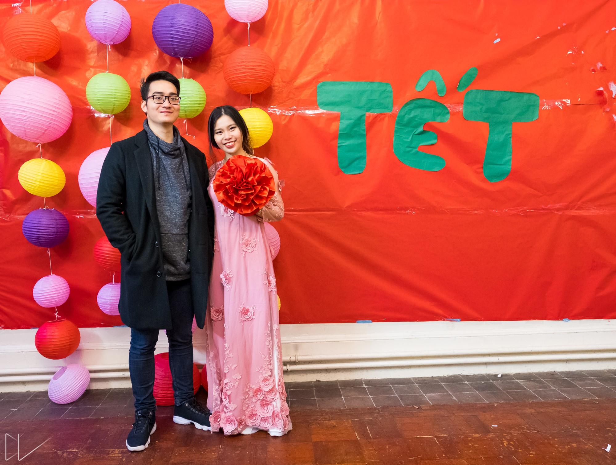 Trai xinh, gái đẹp nô nức tham gia chương trình Tết của du học sinh Việt tại Anh - Ảnh 8.