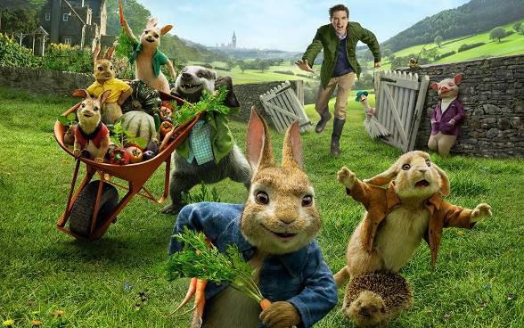 Chú Thỏ Peter tinh nghịch sẽ khuấy đảo màn ảnh rộng mùa Tết 2018 - Ảnh 2.
