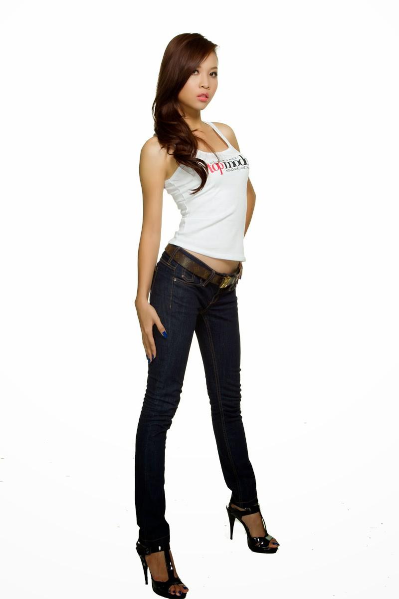 Nhan sắc của Đàm Thu Trang - bạn gái Cường Đô La thuở đi thi Next Top Model - Ảnh 1.