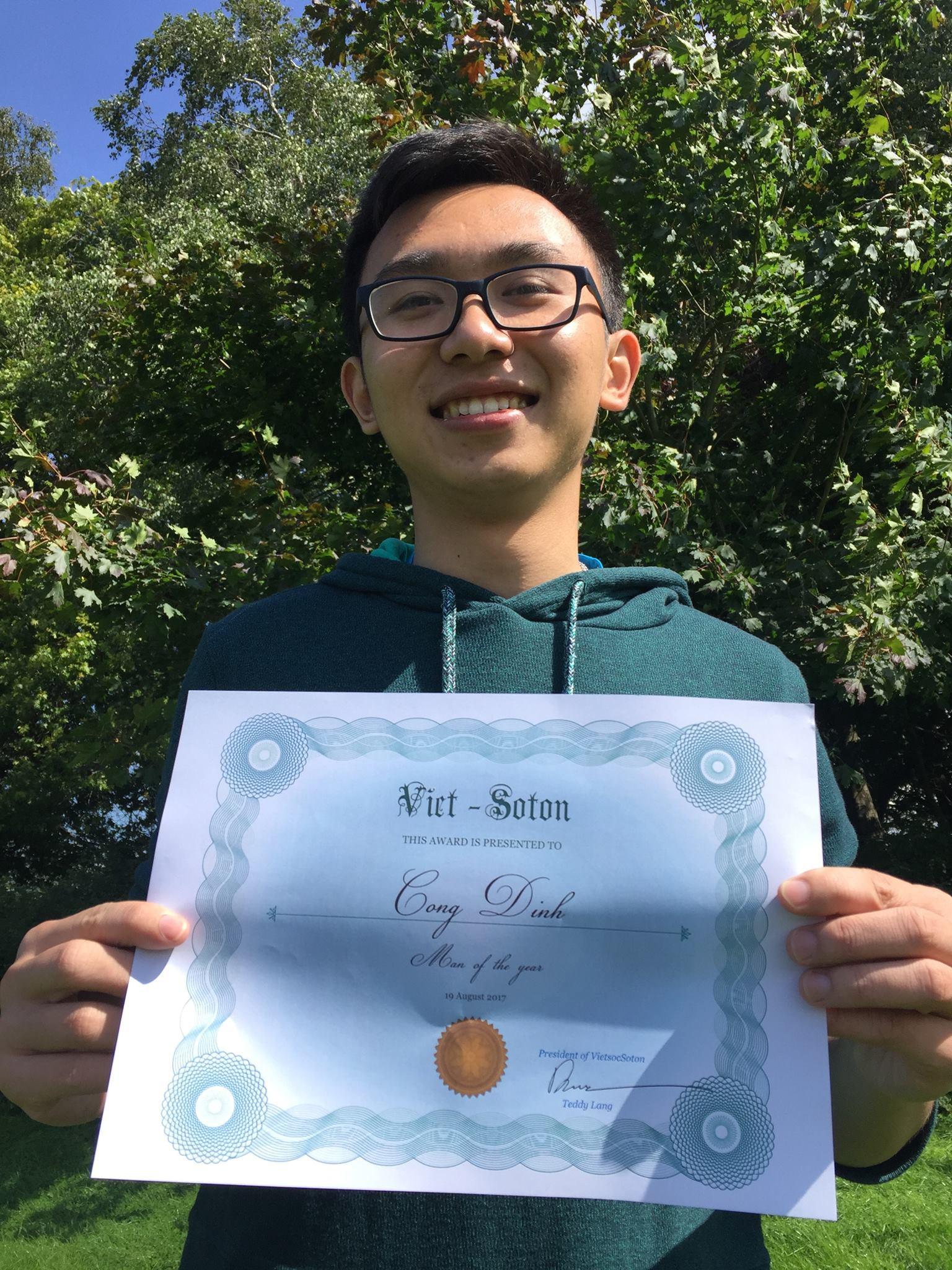 Chàng trai Hà Tĩnh chuẩn con nhà người ta: HCB Toán quốc tế, nhận học bổng tiến sĩ toàn phần khi mới học năm 3 - Ảnh 9.
