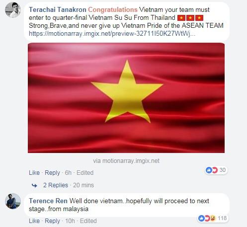 Fan Thái Lan, Indonesia, Malaysia... chúc mừng kỳ tích của U23 Việt Nam - Ảnh 5.
