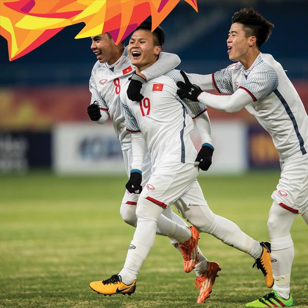 Kết quả hình ảnh cho coor động viên đội U23 Việt nam