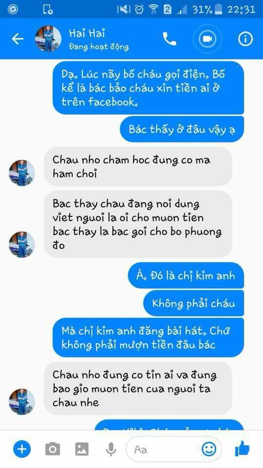 Bị họ hàng gọi điện mách bố khi lên Facebook viết caption mượn tiền Người lạ ơi - Ảnh 3.