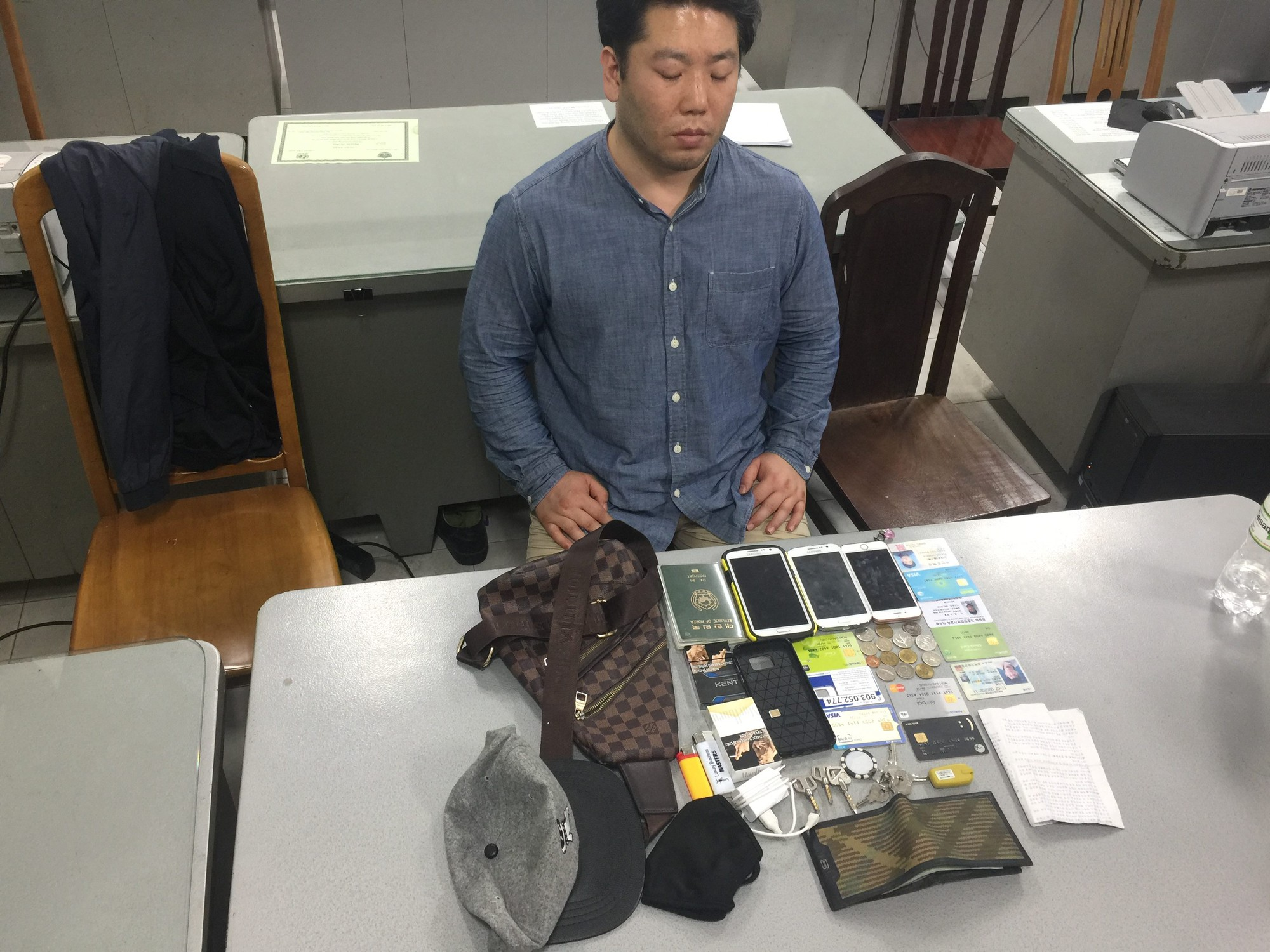 Lời khai của người đàn ông Hàn Quốc sát hại cô gái trong phòng trọ ở Sài Gòn - Ảnh 1.