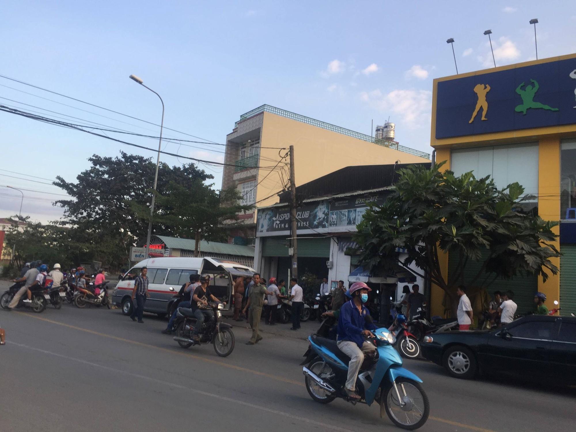 Người đàn ông bị điện giật tử vong trong phòng tập gym ở Sài Gòn - Ảnh 1.