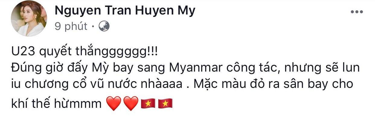 Sao Việt rộn ràng gửi lời chúc tới đội tuyển U23 Việt Nam trước trận bán kết lịch sử!