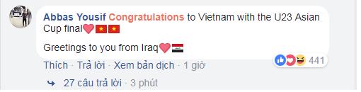 Fan châu Á rơi nước mắt vì kỳ tích của U23 Việt Nam - Ảnh 4.