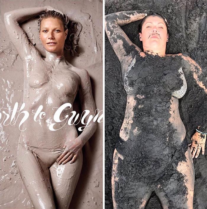 16 bức ảnh sống ảo hàng fake của cô nàng béo lầy lội - Ảnh 13.