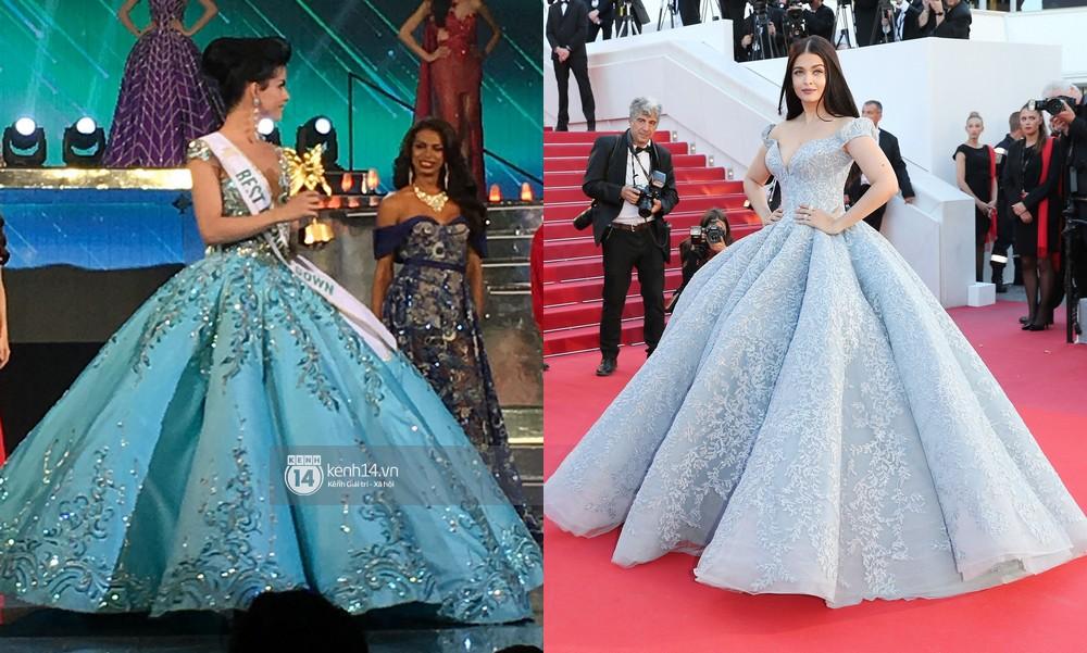 Hoa hậu chuyển giới 2018: Đại diện Venezuela vừa thắng giải đầm dạ hội đẹp nhất đã vướng nghi án nhái đầm Lọ Lem trứ danh của Hoa hậu thế giới - Ảnh 6.