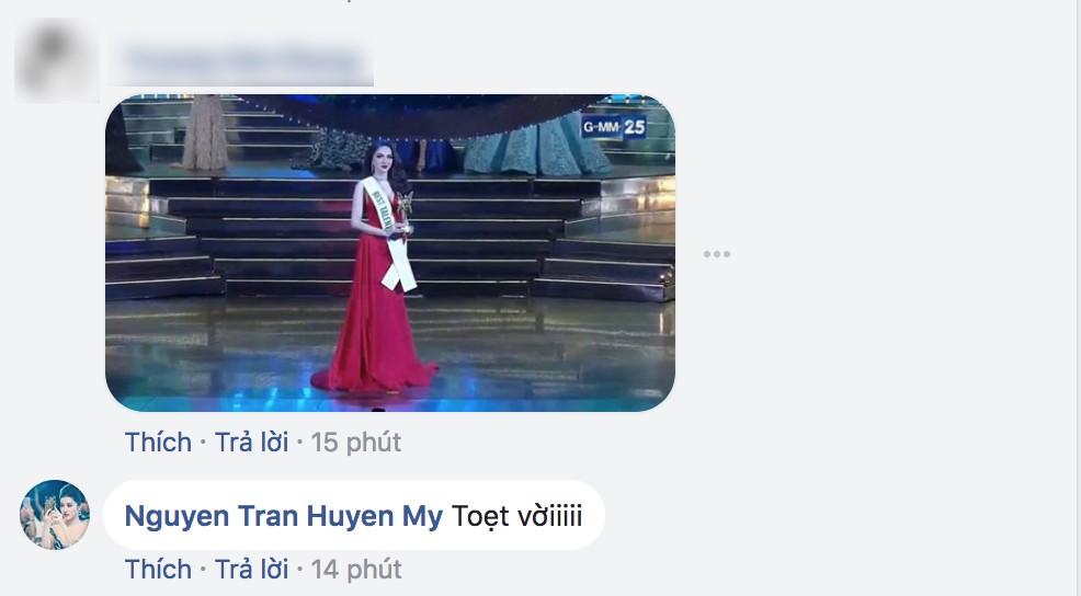 Hương Giang xuất sắc đăng quang Hoa hậu, dàn sao Việt đồng loạt gửi lời chúc mừng - Ảnh 3.