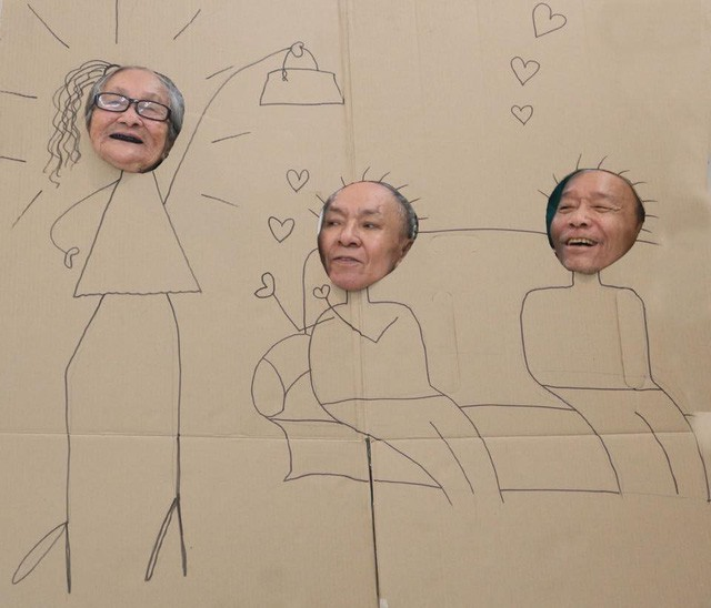 Đằng sau cánh cửa một viện dưỡng lão ở Hà Nội: Ừ thì, mình cứ vui hết mình thôi! - Ảnh 3.