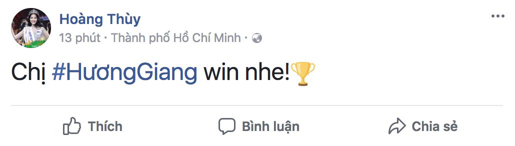 Hương Giang xuất sắc đăng quang Hoa hậu, dàn sao Việt đồng loạt gửi lời chúc mừng - Ảnh 2.
