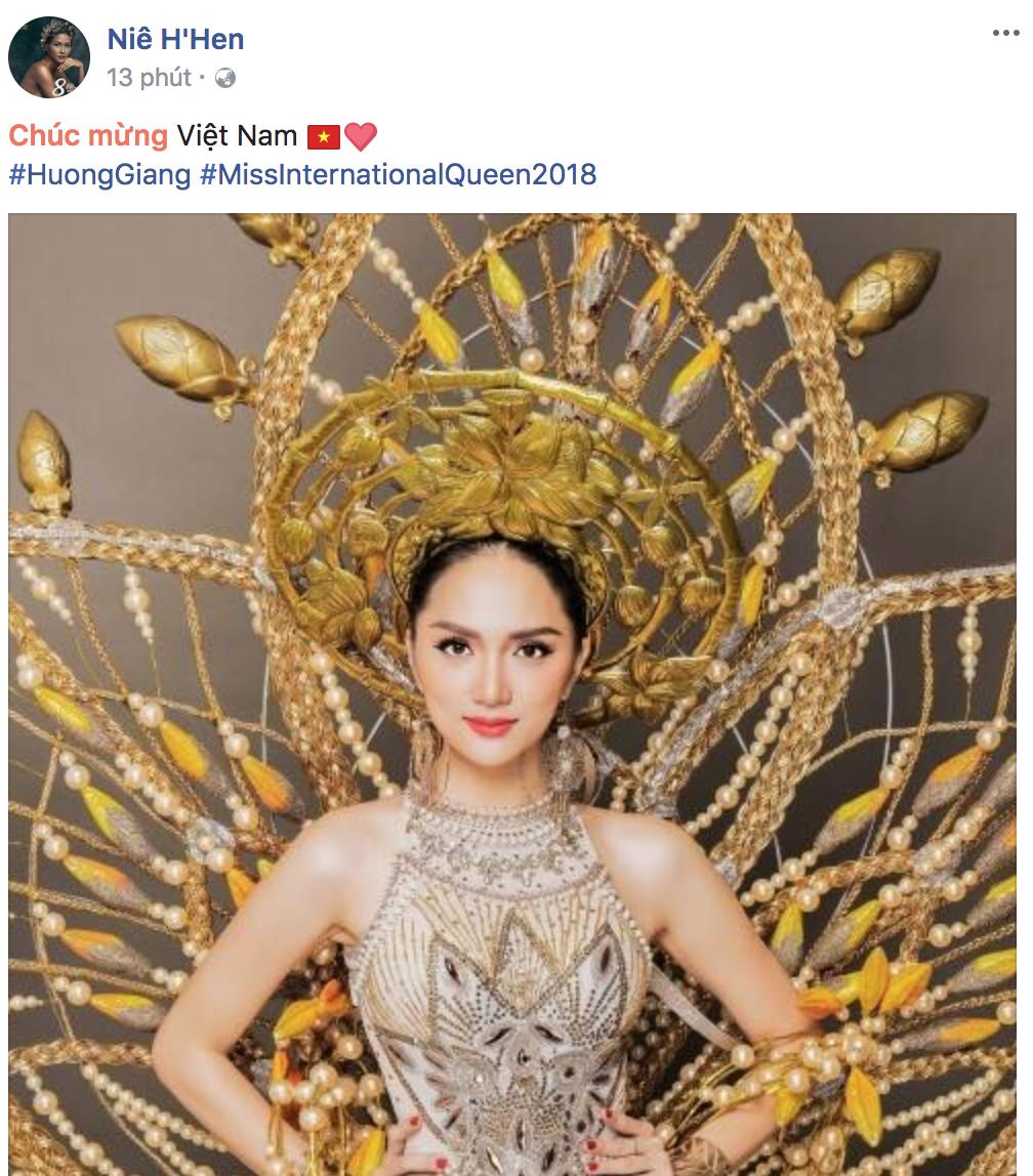 Hương Giang xuất sắc đăng quang Hoa hậu, dàn sao Việt đồng loạt gửi lời chúc mừng - Ảnh 6.