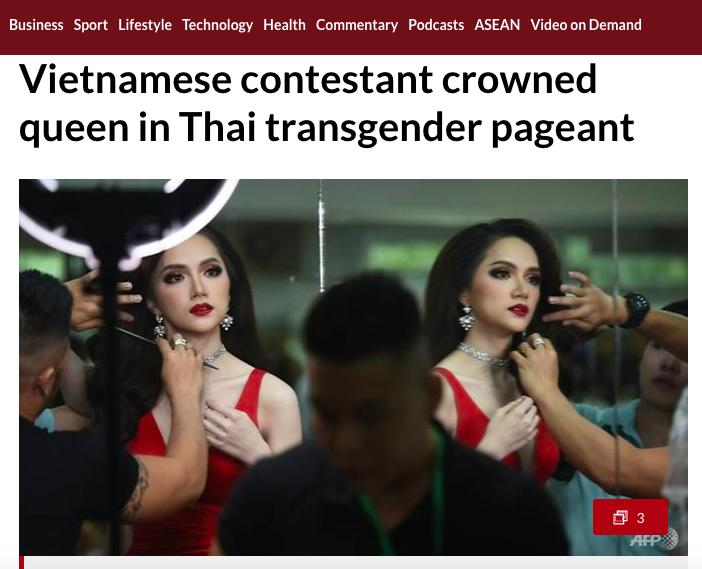 DailyMail, AFP cùng loạt tờ báo lớn nhất thế giới đưa tin Hương Giang đăng quang Hoa hậu Chuyển giới Quốc tế 2018 - Ảnh 4.