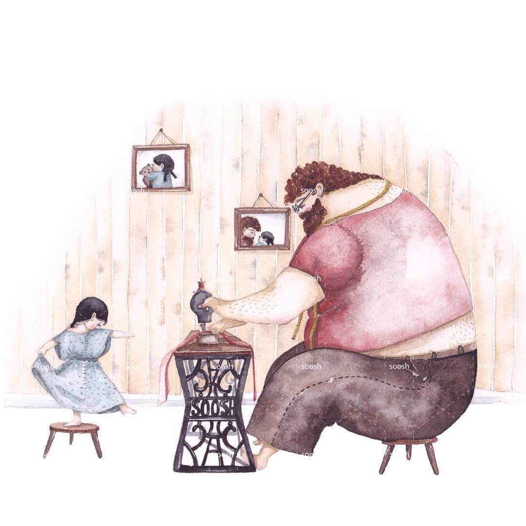 Phần tiếp theo của bộ tranh Vì con gái nhỏ, cha sẽ làm tất cả từng khiến cư dân mạng rưng rưng - Ảnh 5.