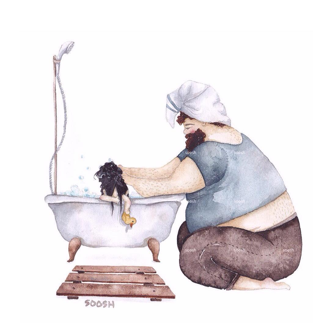 Phần tiếp theo của bộ tranh Vì con gái nhỏ, cha sẽ làm tất cả từng khiến cư dân mạng rưng rưng - Ảnh 7.