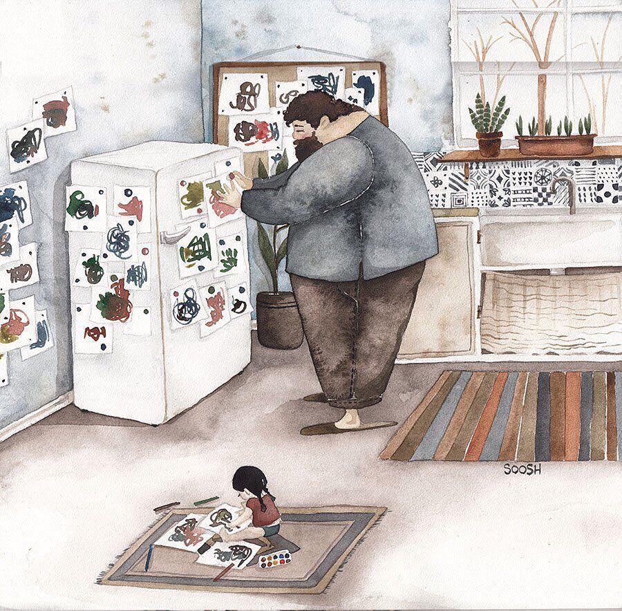 Phần tiếp theo của bộ tranh Vì con gái nhỏ, cha sẽ làm tất cả từng khiến cư dân mạng rưng rưng - Ảnh 15.