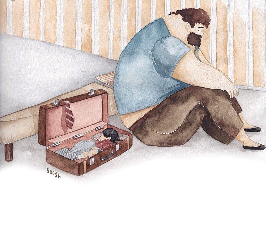 Phần tiếp theo của bộ tranh Vì con gái nhỏ, cha sẽ làm tất cả từng khiến cư dân mạng rưng rưng - Ảnh 23.