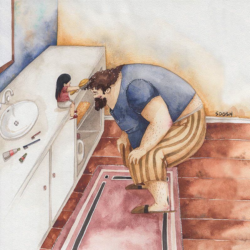 Phần tiếp theo của bộ tranh Vì con gái nhỏ, cha sẽ làm tất cả từng khiến cư dân mạng rưng rưng - Ảnh 25.