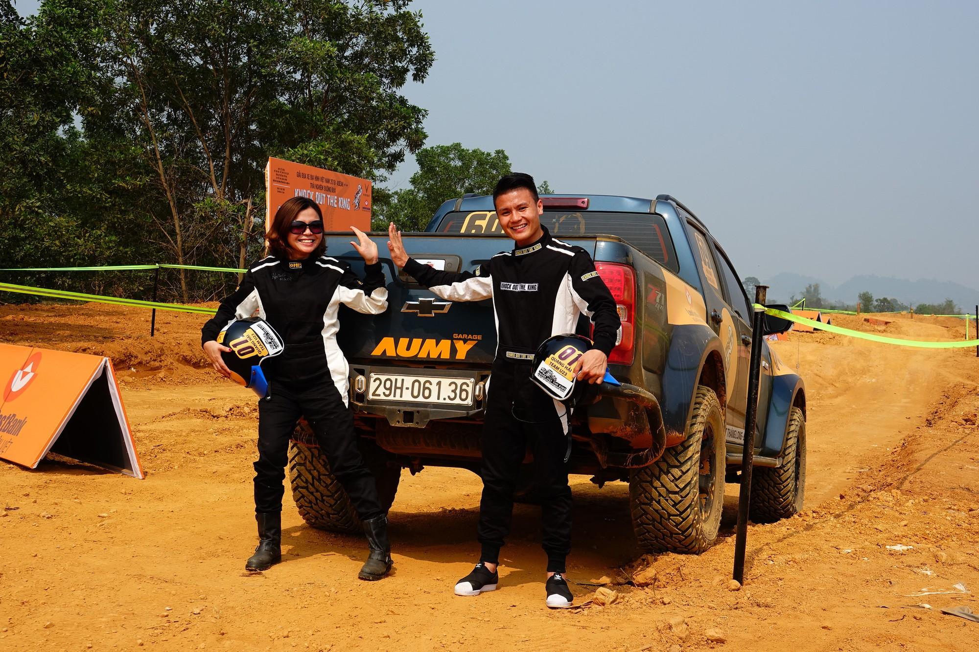 Nghĩa cử cao đẹp của Quang Hải khi tham gia giải đua xe địa hình đối kháng đầu tiên tại Việt Nam - Ảnh 3.