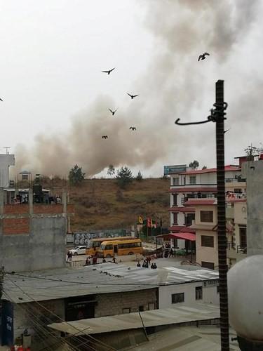 Ảnh: Hiện trường vụ máy bay gặp nạn khi hạ cánh ở Nepal, 50 người chết - Ảnh 8.