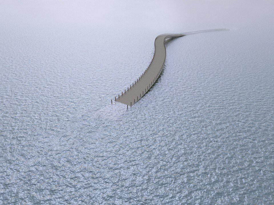 Cây cầu cực dị cực kỳ quái của Hà Lan: Cứ mưa là phải... ngập - Ảnh 4.