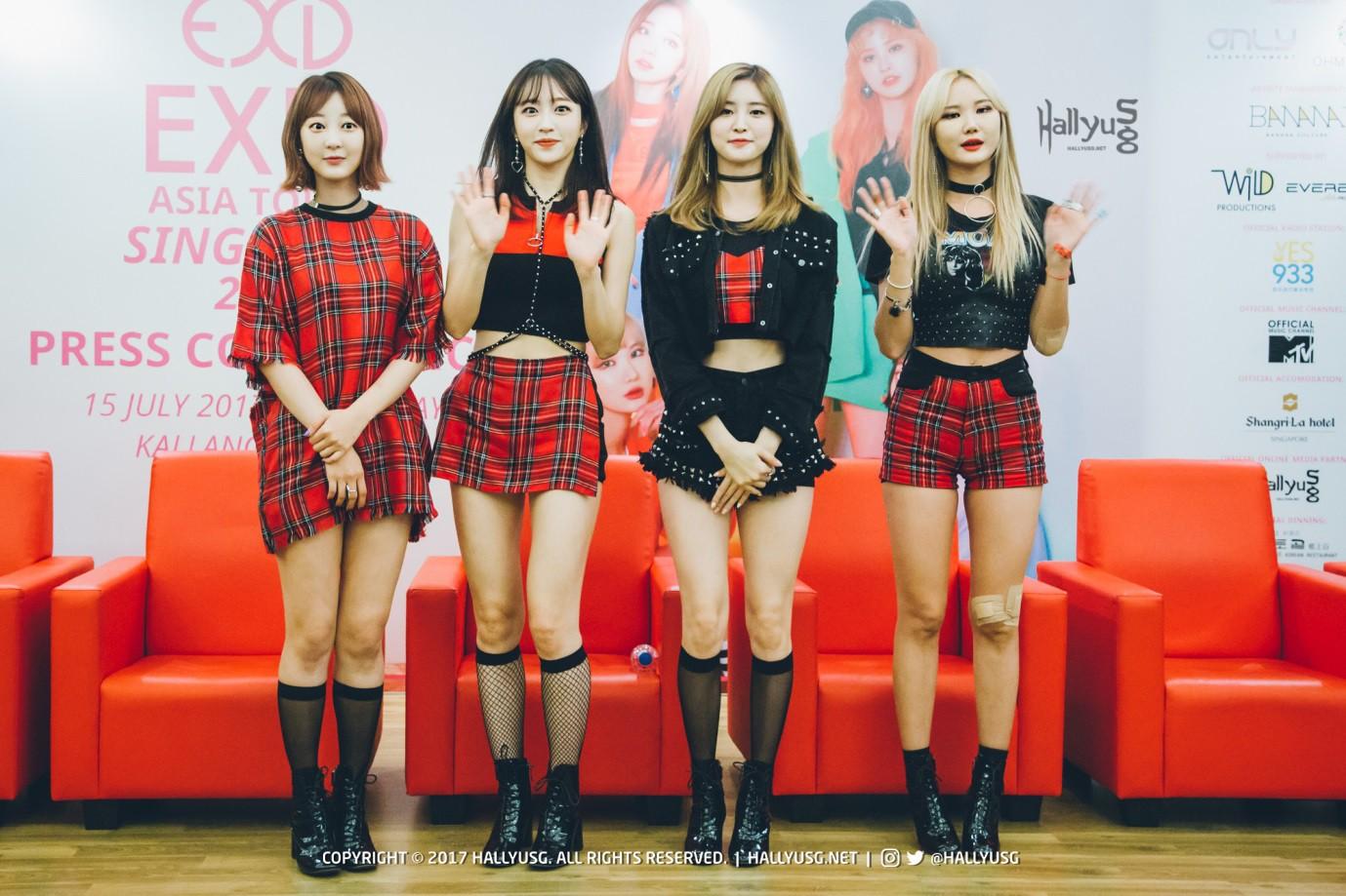 EXID thông báo vẫn chỉ trở lại với 4 thành viên - Ảnh 2.