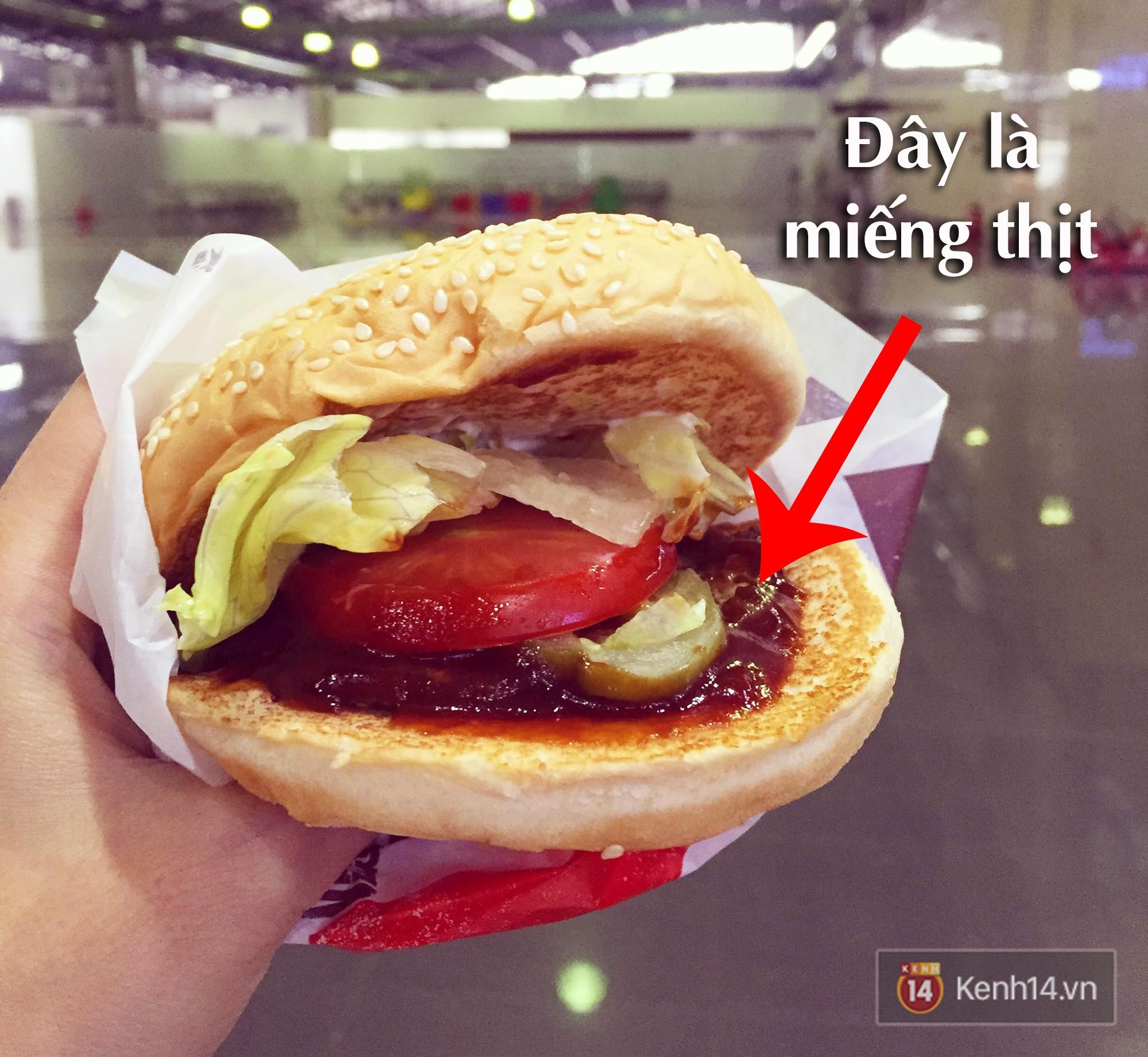 Xem sự khác biệt giữa quảng cáo và thực tế của burger ở Việt Nam để thấy đúng là đời không như mơ - Ảnh 10.