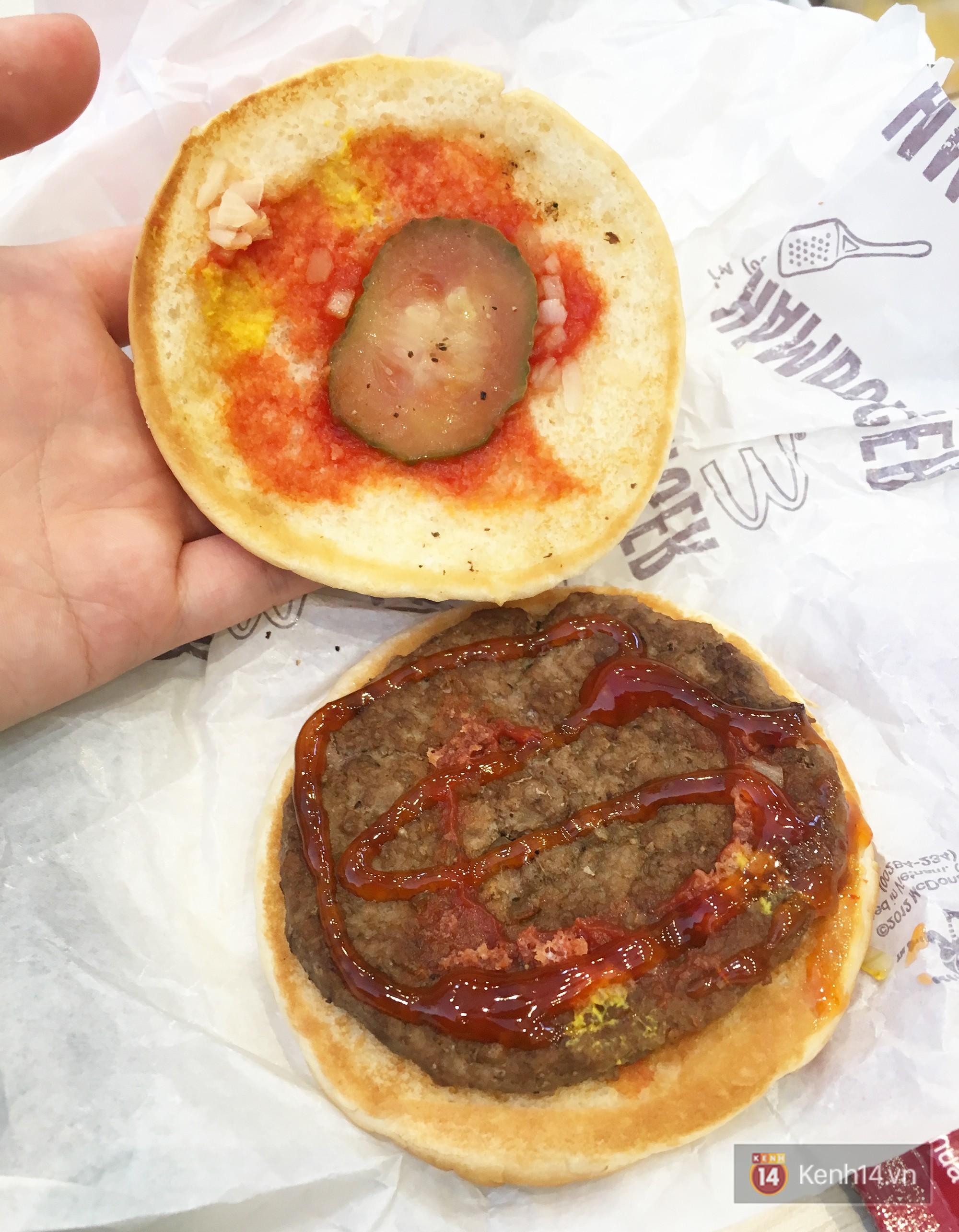 Xem sự khác biệt giữa quảng cáo và thực tế của burger ở Việt Nam để thấy đúng là đời không như mơ - Ảnh 4.