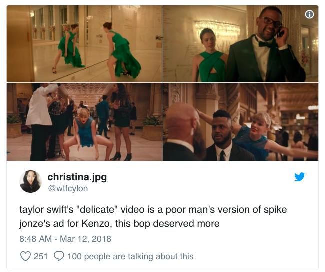 Giới mộ điệu thời trang phát hiện ra MV mới của Taylor Swift đã nhái lại còn lỗi - Ảnh 3.