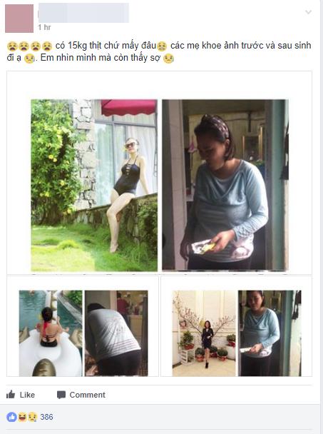 Loạt ảnh trước và sau khi sinh của các mẹ trẻ khiến nhiều người phải thốt lên: Đây có phải là cùng một người? - Ảnh 1.